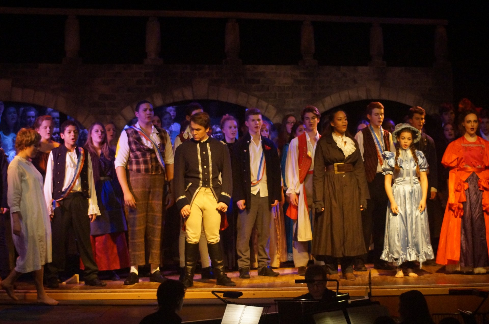 Les Miserables for youth and adult productions