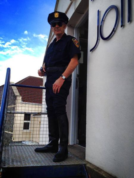 US Policeman costume hire