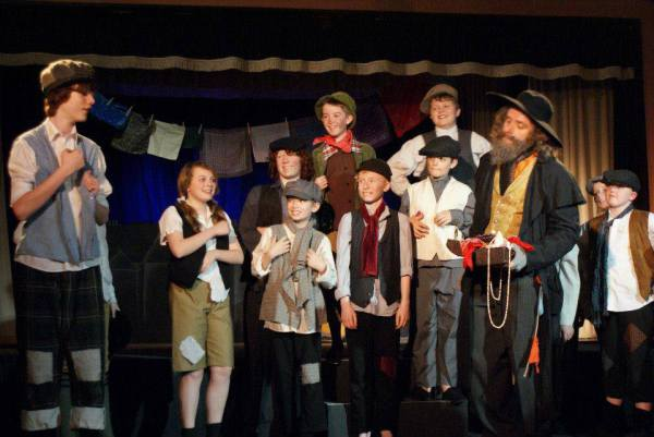 Oliver costumes for youth and adult productions